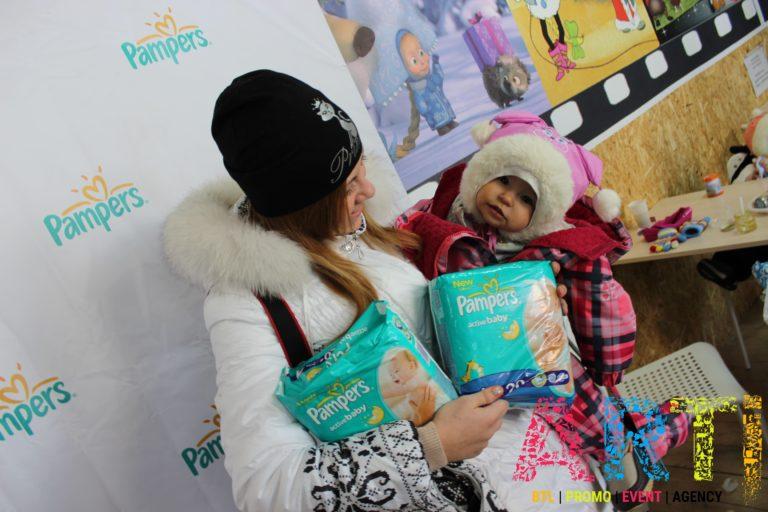 Pampers event мероприятие детский праздник